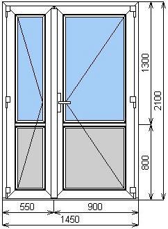 Застеклить балкон и штульповые балконные двери цены..